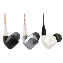 Vsonic GR09 Ceramics Interchangeable cable Dynamic Noise Isolation HIFI In-ear Earphones
