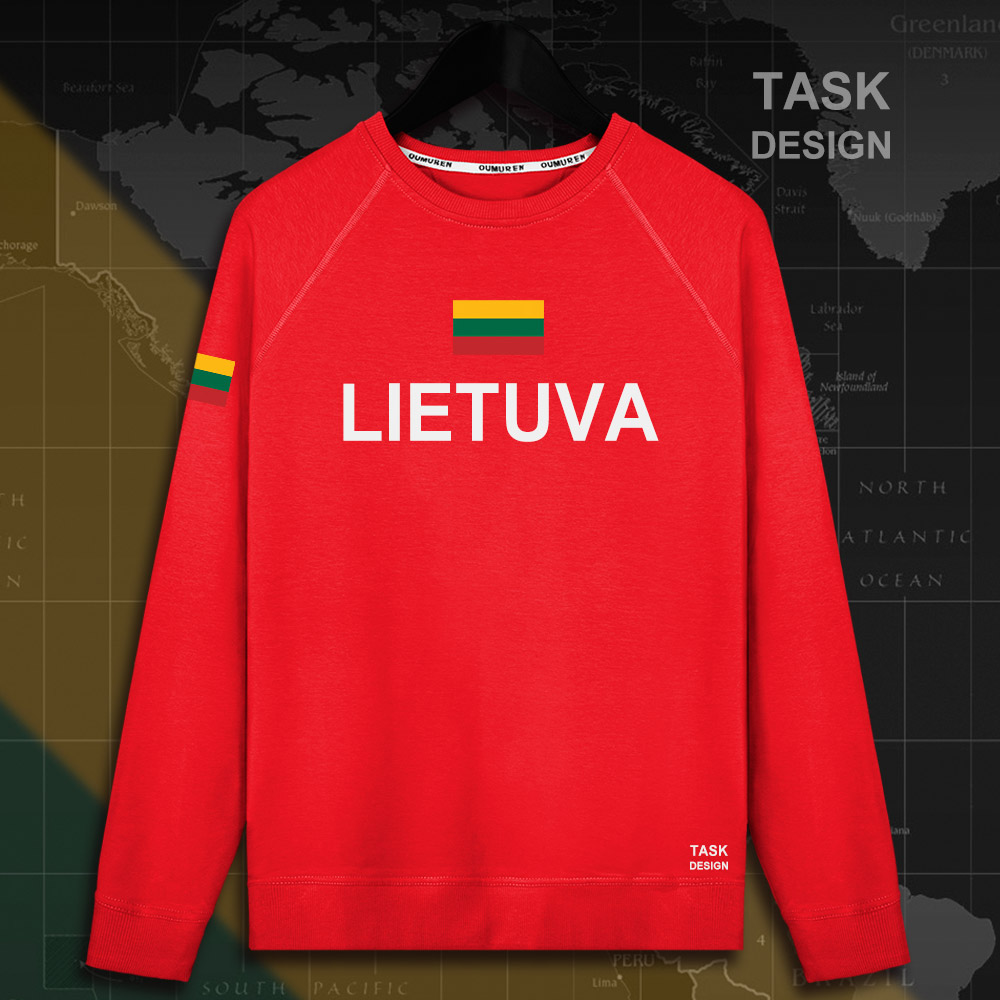 Lithuania Lithuanian LTU Lietuva Lietuvos men hoodie pullovers hoodies men sweatshirt new streetwear clothing Sportswear tracks 9