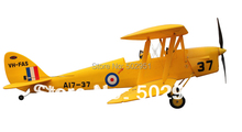 DH-82 Tiger Moth 1270mm Radio control model PNP and KIT Dynam(China)