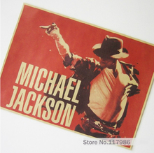 Vintage Posters Rock Star Michael Jackson Home Decorative Painting Wall Background Hang Picture Kraft Paper Printed Draws Photo