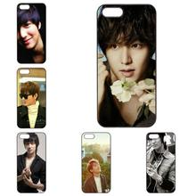 Korea Super Star Lee Min Ho Printing For Apple iphone 5S 5 5C SE 4S 6 6S 7 Plus 7plus Samsung Galaxy S3 S4 S5 S6 S7 Edge