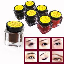 Body Art Paint Microblading Permanent Makeup Eyebrow Tattoo Ink For Training