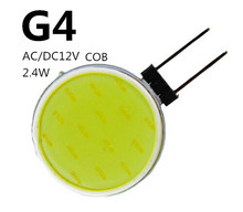 COB Led G4 AC12V DC12V round Pin Round shape Flat G4 LED COB 12V Decorative lights Indoor light LED COB G4 DC12V Disc shape 2.4W