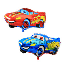 TSZWJ G-053 free shipping 1pcs The new Cartoon Cars Mai Kun aluminum balloons birthday party balloon wholesale cartoon toys(China)