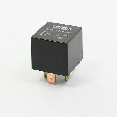 DC 24 Voltage 40A Normal Close SPST 4 Pin JD2912 Auto Car Relay 10 Pcs<br>