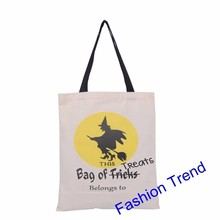 200pcs/lot free shipping new arrival Halloween bags treat or Trick drawstring bags pumpkin personalized Halloween kids gift bags
