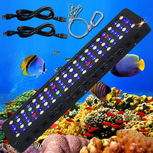 MarsAqua Dimmable 300W LED Aquarium Light Full Spectrum Reef Coral Marine(China)
