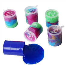 Colorful Drums Barrel O Slime Joke Gag Prank Toys Funny Trick Party Favor Gifts
