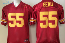 Nike USC Trojans  SEAU #55 BUSH #5 POLAMALU #43 Ice Hockey Jerseys