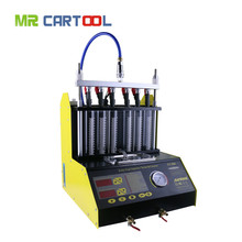 Flash Sale CT200 Fuel Injector Cleaner & Tester 220V/110V with English Panel Better than CT100 LAUNCH CNC602A CNC-602A Free Ship