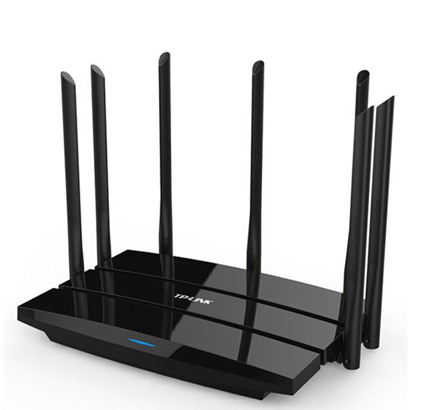 TP LINK WDR8500 Roteador Wireless Wifi Router 2.4G/5GHz DuaL Band Gigabit 2200Mbps 802.11AC Wifi Repeater 7 Antennas <br><br>Aliexpress