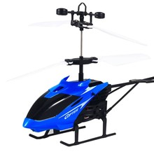 Kids Toys Mini RC Helicopter 3D Gyro Helicoptero with USB Charging Cable