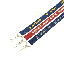 Free Shipping 100lots Quality Polyester Custom Lanyards(China)