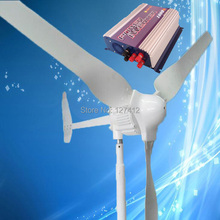 New Arrival 1KW Wind Power Generator 1000W 48V Wind Turbine with 3PCS Blades + 1000W Grid Tie Wind Inverter, 3 Years Warranty