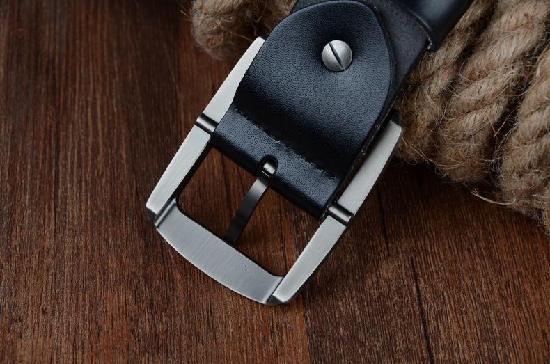 حزام COWATHER جلد طبيعي للرجال 23