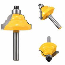 "New 1/4"" Shank Router Bit Roman Ogee Double Edging Router Bit Milling Cutter For Woodworking Tool(China)"