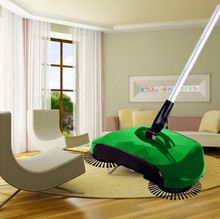 2017 hot sale New Arrival 360 Rotary Home Use Magic Manual Telescopic Floor Dust Sweeper #0810 C(China)