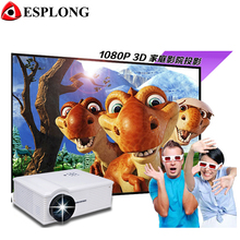 Brand New Eink PH580 1280 x 800p 5.8 inch LCD Panel LED Projector with Remote Control 3200 lumens Built in Speaker
