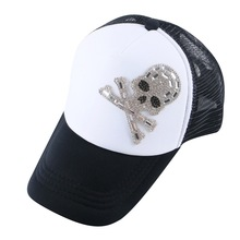 new popular boy girl brand snapback custom mesh rhinestone crown luxury children baseball cap promotion summer net cool gorras