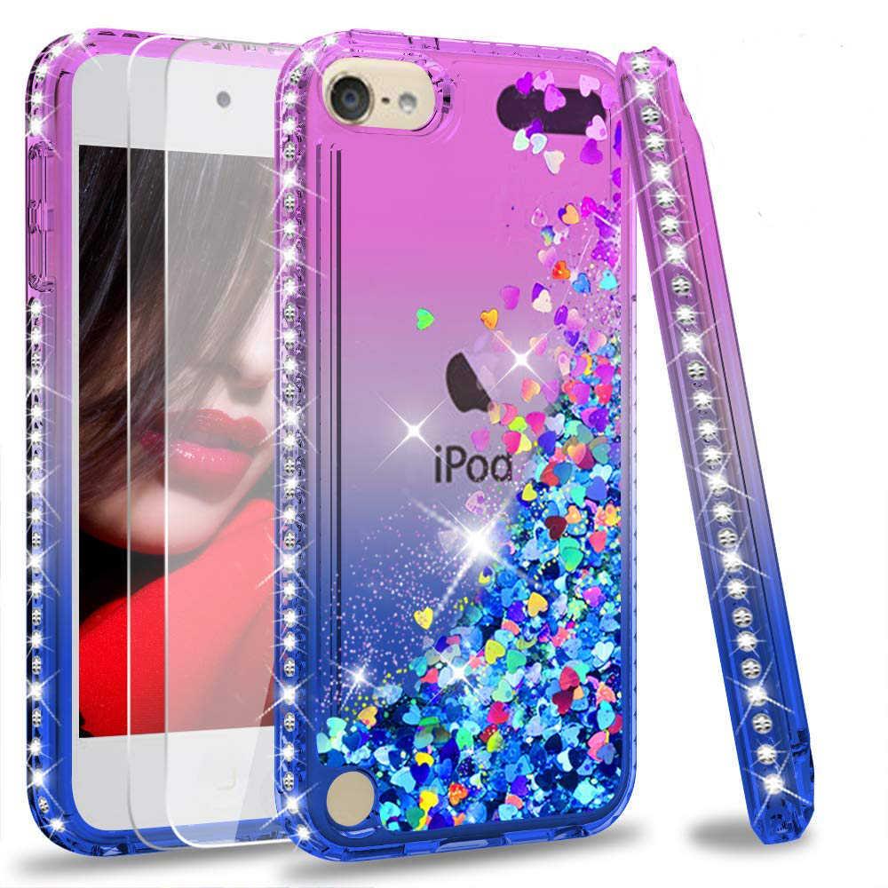 iPod Touch 5th Case 6th Glitter Unicorn