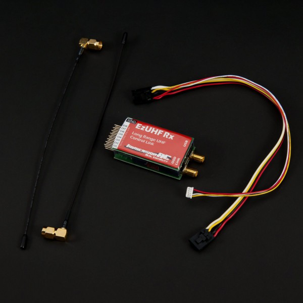ImmersionRC EzUHF Receiver 8 channel diversity Long Range Receiver RX for RC FPV Fixed-Wing