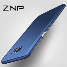 ZNP Luxury hard Matte Case for Samsung Galaxy S7 S6 S7 edge S6 Full Cover PC Phone Cases For Samsung Galaxy S8 S8 plus S7 Case(China)