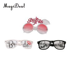 MagiDeal Bride/Groom/Bride to Be Eyeglasses Glasses for Hens Night Stag Party Fancy Dress Costume(China)