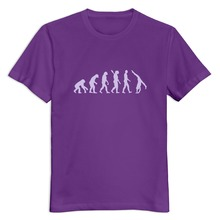 Organic Cotton Evolution Gymnastics man t-shirt Discount Home Wear boyfriend t-shirt