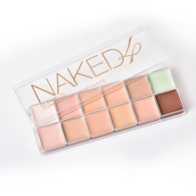 O. TWO. The Corrective 12 Color Palette Professional Makeup Facial Foundation Facial Cream Cosmetic Palettes Make Up