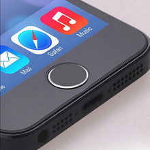 2018 New Touch ID Home Button Sticker Protector Keypad Keycap For iPhone 5 5S 6 6s plus Support Fingerprint Unlock Touch Key ID(China)