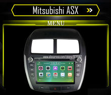 Free Shipping Car DVD Player For Mitsubishi ASX Audio Radio With Gps Navigation Player Bluetooth IPOD Radio Free Map Card