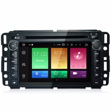 Newest Android 6.0 System Double Din Car DVD For Chevrolet Express Traverse Tahoe Suburban Avalanche Equinox GMC Acadia Denali(China)