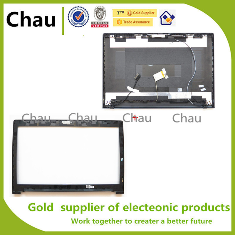 New For lenovo G70-70 G70-80 B70-70 B70-80 B70 G70  LCD Back Cover +Lcd Front Bezel Cover  AP0U1000100  AP0U1000200<br><br>Aliexpress
