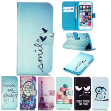 For iPhone 5 5S SE 4 4S 6 6s 7 Plus Magnetic Flip Wallet PU Leather Phone Case Cover for Samsung Galaxy S3 S4 S5 Neo S6 S7 Edge