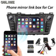 cheapest navigator carlinke car pc Trip computer miracast support every kind phone wifi wireless mirror link box to all car