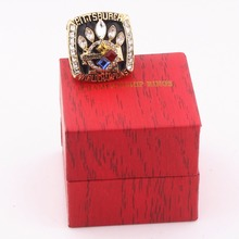 Factory Outlet 2005 Super Bowl Pittsburgh Steelers World Champion Ring Replica / Manufacturer Supplied with Premium Ring Box(China)