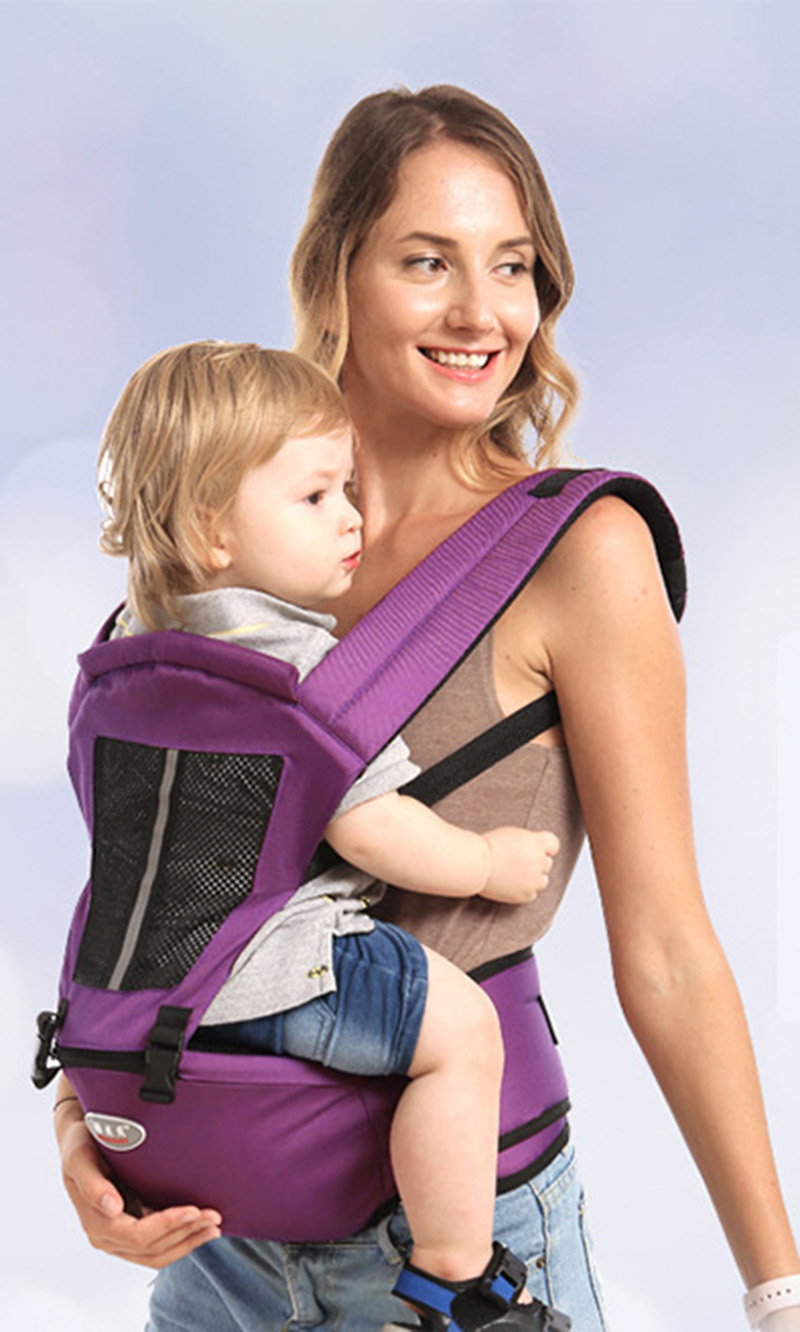 Baby Carriers Multifunction 0-36 Months Breathable Front Facing Infant Comfortable Sling Backpack Pouch Wrap Baby Belt BB3069 (10)
