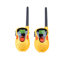 2pcs Cute Two-way Handheld Radio Transceiver Walkie Talkie Children Parent Toys New Best Gift Child Kids