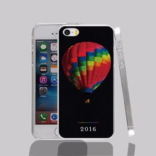 12658 Coloful hot air balloon cold play Cover cell phone Case for iPhone 4 4S 5 5S 5C SE 6 6S Plus 6SPlus
