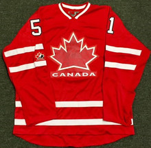 51 RYAN GETZLAF TEAM CANADA Olympic Jersey Hockey Jersey Embroidery Stitched Customize any number and name Jerseys(China)