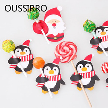 Buy 48-50PCS/Set Christmas Candy Lollipop Decoration Paper Card Kawaii Halloween Birthday Party Wedding Decor Diy Gifts Favors Cards for $2.37 in AliExpress store