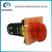 LW28-6 T-16EXF64D High dc voltage control automatic electrical changeover rotary cam switch 6 poles 20A sliver point contacts(China)
