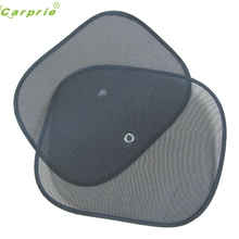 New Arrival 2pcs Black Side Car Sun Shade Rear Window Sunshade Cover Mesh Visor Shield Screen(China)