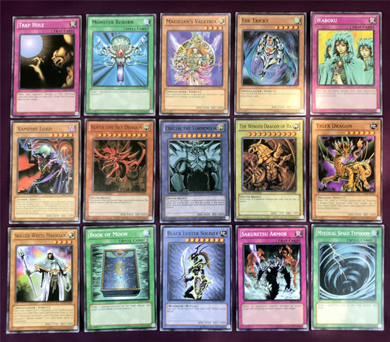 Yugioh Cards Egyptian God Collectible Toys for Boy Free Yu-gi-oh Metal Box 66Pcs Figures Japan Yu Gi Oh Legendary Game Cartas (3)