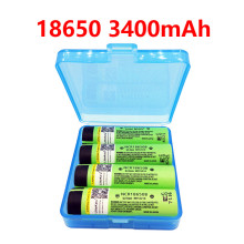 2017 liitokala original NCR18650B 3.7V 3400 mah 18650 3400mah for Panasonic rechargeable lithium battery ree shopping(China)