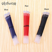 20PCS Tube A Pack Neutral Ink Gel Pen Refill Good Quality Refill Black Blue Red 0.5mm Bullet Refill Office Stationery Supplies(China)