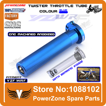 Billet CNC Aluminum Twister Throttle Tube Fit  YZF250 400 426 450 WRF 250 400 450 Motorcross Dirt Bike Free Shipping