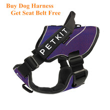 Light Breathable Dog Harness Leash For Small Large Dog Belt Collar Adjustable Reflective Rope Buy Harness Get Belt Free!