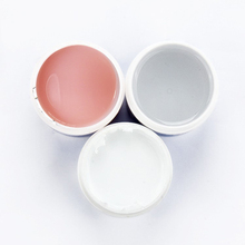 3pcs 2oz / 56g IBD Gel Polish UV Builder Model Gel Nail Art Pink Clear White Beauty Strong manicure polish gelpolish Bonder