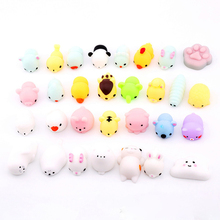 1 PCS Random Squishy Lot Slow Rising fidget toy Press Relief Cute Animal Hand Toy Practical Jokes